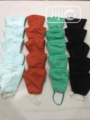 20 in 1 Facemask (Orange, Skyblue, Aqua Green and Black) With Elastic | Clothing Accessories for sale in Lagos State, Ajah