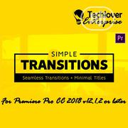 Simple Transitions For Premiere Pro | Software for sale in Lagos State, Lekki Phase 1
