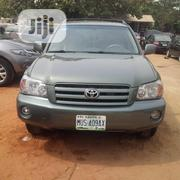 Toyota Highlander V6 2006 Green | Cars for sale in Niger State, Agwara