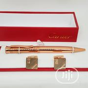 Cartier Pen And Cufflinks For Unisex   Safety Equipment for sale in Lagos State, Lagos Island