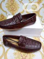 Check Out This Original Gucci Leather Design for Men Available. | Shoes for sale in Lagos State, Lagos Island