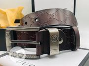 Original Gucci Leather Belt Brown | Clothing Accessories for sale in Lagos State, Surulere