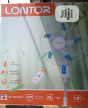 Lontor Rechargeable Fan 18inch Simply the Best 6to7hours Lasting | Home Appliances for sale in Lagos State, Ojo