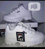 White Fila Sneakers for Guys and Ladies | Shoes for sale in Lagos State, Surulere