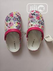 White Floral Crocs Sandal | Children's Shoes for sale in Lagos State, Lagos Island