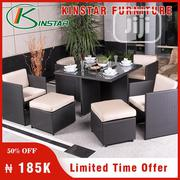 Four Seaters Sofa With Dinning Table From Kinstar Furniture   Furniture for sale in Lagos State, Ikoyi
