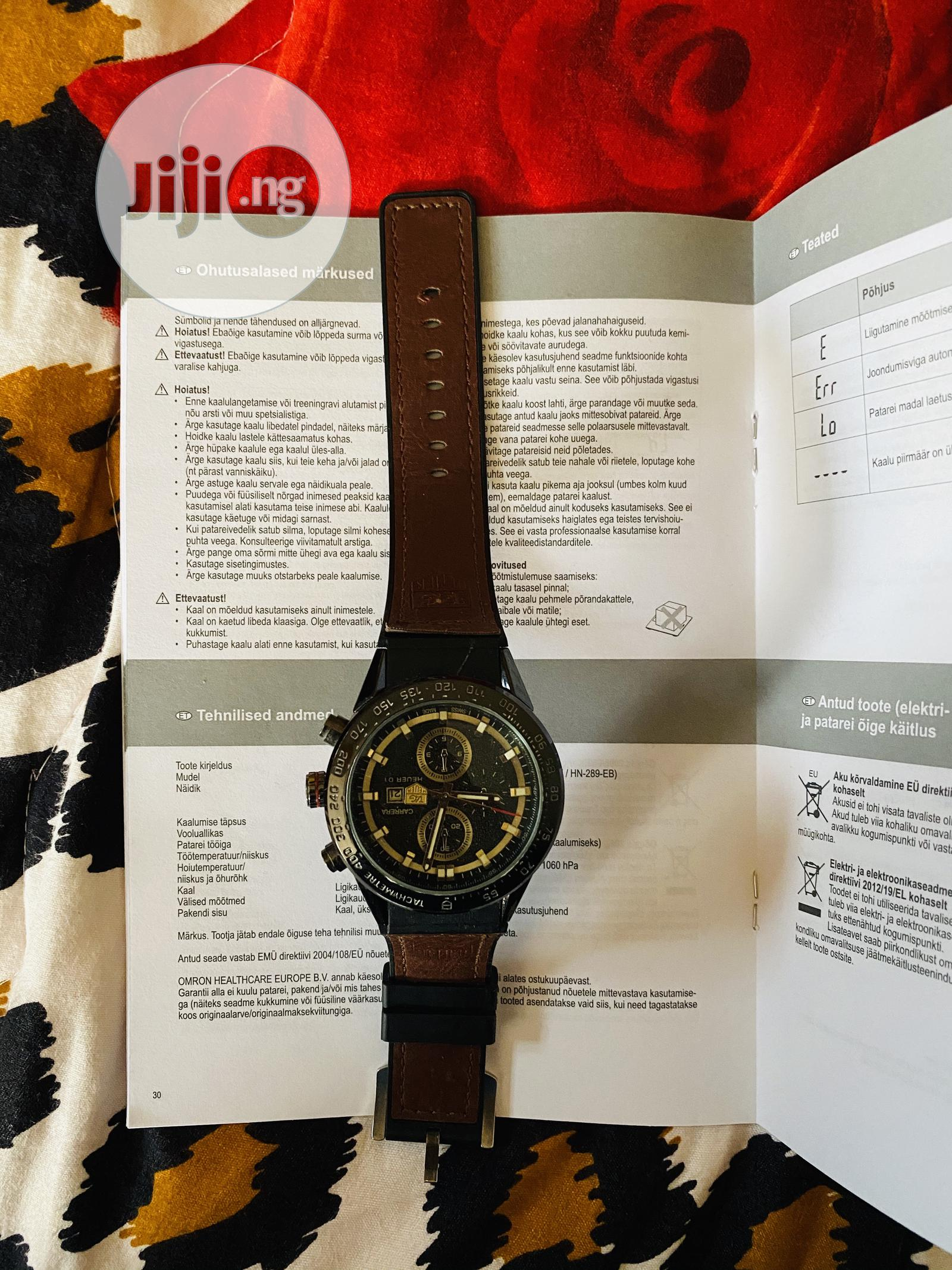 Used TAG Heuer (Carrera) | Watches for sale in Ikeja, Lagos State, Nigeria