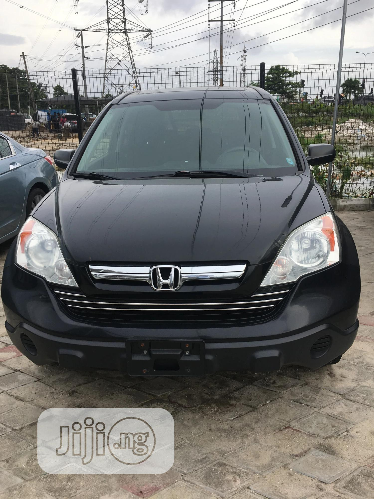 Honda CR-V 2008 Black