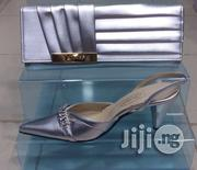 Leather Ladies Italian Party Wedding Shoe Sandals | Wedding Wear for sale in Lagos State, Lekki Phase 1