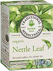 Traditional Medicinals Organic Nettle Leaf Tea, 16 Tea Bags | Vitamins & Supplements for sale in Lagos State, Ajah