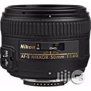 Nikon AF-S NIKKOR 50mm F/1.4g Lens | Accessories & Supplies for Electronics for sale in Lagos State, Ikeja