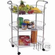 3 Tier Storage Trolley Rack | Store Equipment for sale in Lagos State, Lagos Island