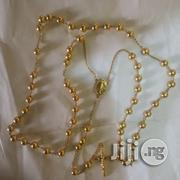 ITALY 750 Pure 18krt Gold Rosary Design Necklace | Jewelry for sale in Lagos State, Lagos Island