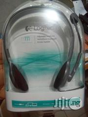 Logitech H111 Headset | Headphones for sale in Lagos State, Ikeja