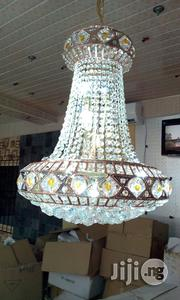 Copper Color Crystal Chanderlier Light | Home Accessories for sale in Lagos State, Lekki Phase 2