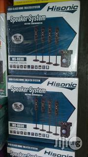 Hisonic Home Theater 5.1 Channels With 2years Warranty Sign | Audio & Music Equipment for sale in Lagos State, Ojo